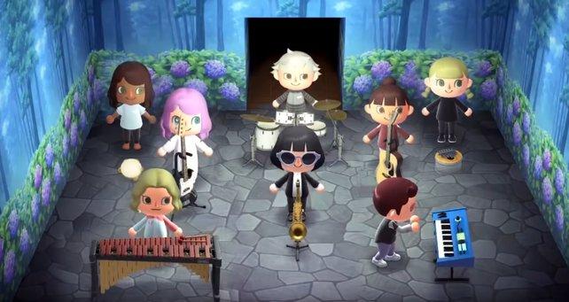 Africa von Toto wird in Animal Crossing: New Horizons nachgespielt.