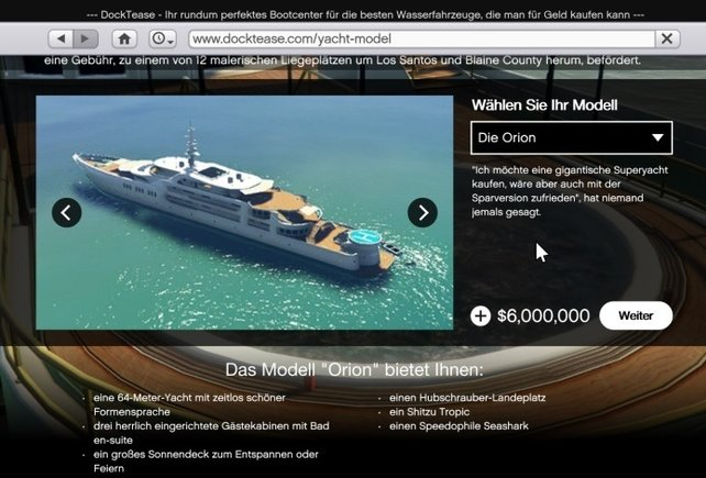 Orion 6.000.000 $