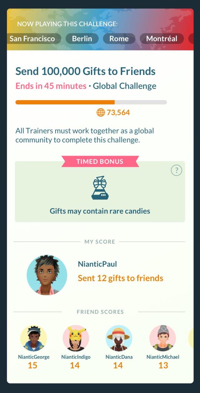 """Hier könnt ihr den Fortschritt der globalen """"Pokémon GO""""-Herausforderungen verfolgen."""