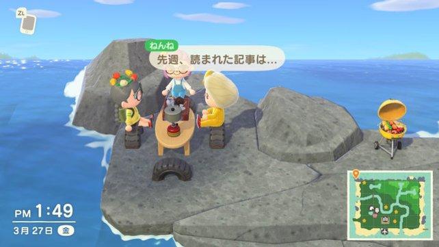 Selbst Meetings wirken in Animal Crossing gleich viel niedlicher.