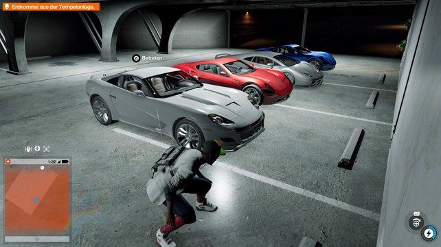 Sucht in jedem gestohlenen Auto auch nach Wertsachen!