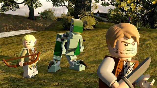 Jurassic World trifft auf Herr der Ringe. Im Lego-Universum halb so schräg wie in eurer Vorstellung.