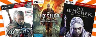 """Deals: Schnäppchen des Tages: Komplette """"The Witcher""""-Spielreihe reduziert"""