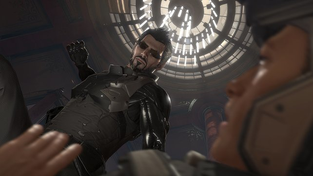 Adam Jensen in Aktion.