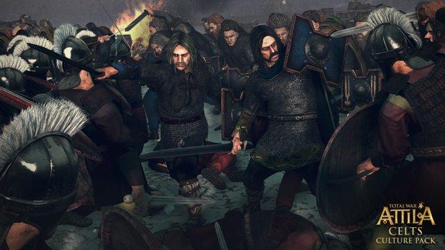 Die Gefechte in Total War - Attila sind intensiv gestaltet.
