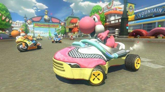 Mario Kart 8 vereint die Neuerungen der letzten beiden Teile und ergänzt weitere.