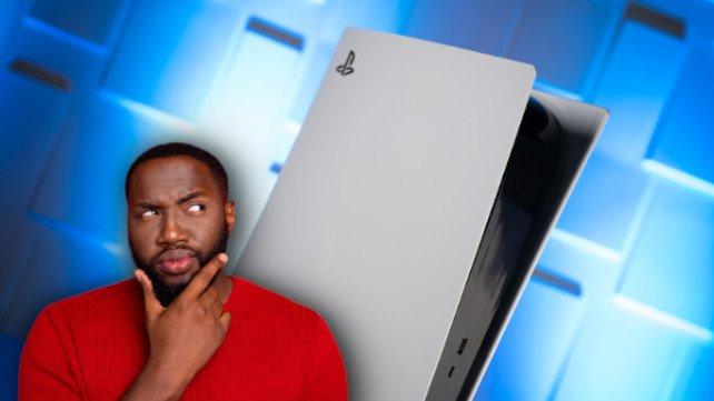 Das PS5-Design stellt offenbar sogar Sony vor große Rätsel. (Bildquelle: Deagreez, Getty Images)