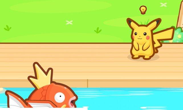 Pikachu ist der erste Helfer, den ihr freischaltet.
