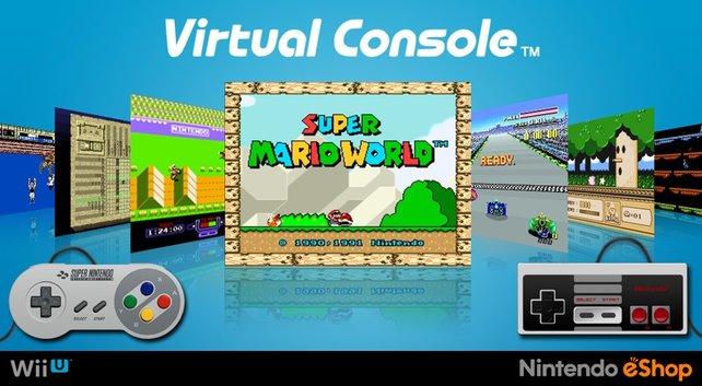 Die Virtual Console hat die Spiele-Bibliothek der Wii U um dutzende Titel erweitert.