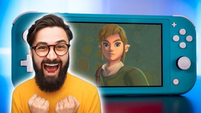 Das neue Switch-Remaster eines Zelda-Klassikers bringt zahlreiche Verbesserungen mit sich, die von den Fans begrüßt werden. (Bild: GIGA / Nintendo / Getty Images – max-kegfire)