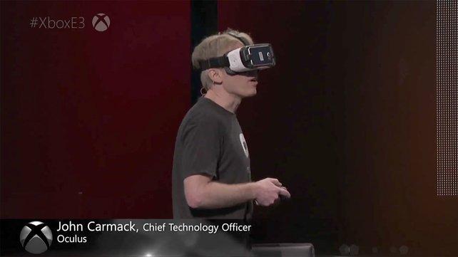 Auf der E3 2016 zeigte Entwicklerlegende John Carmack, wie gut Minecraft über mehrere Systeme hinweg läuft.