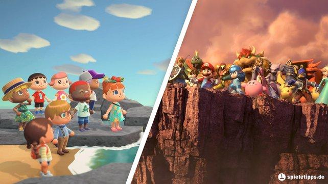 Es kommt zum Crossover zwischen Animal Crossing: New Horizons und Super Smash Bros. Ultimate.