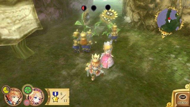 Das Spiel erinnert zuweilen an Nintendos Pikmin.