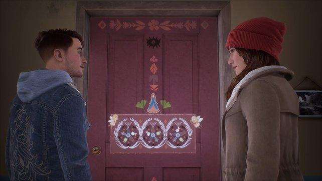 Bereits das erste Rätsel stellt eure Geduld auf die Probe. Es steht euch frei, ob ihr versucht das Rätsel von Mary-Ann zu lösen oder die Türe mit Gewalt öffnet.
