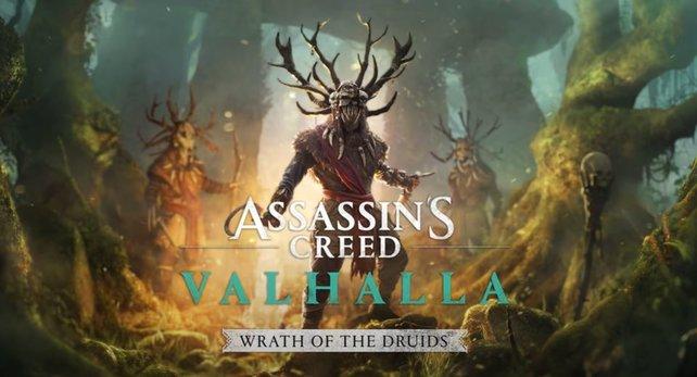 """Der erste DLC zu AC: Valhalla heißt """"Zorn der Druiden"""" und erscheint im Frühjahr 2021."""