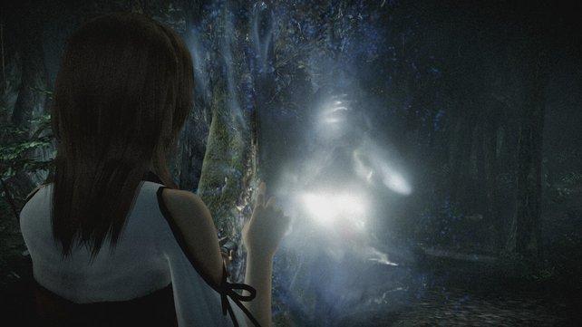 Schemenhafte Visionen weisen euch den Weg durch Wälder und Tempel.