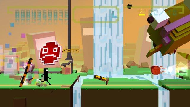 Hüpfspaß im Takt der Musik - Commander Video hat den Rhythmus im Blut.