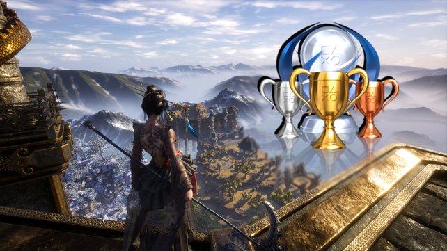 Den Sieg und die Trophäen von Hunter's Arena: Legends fest im Blick.