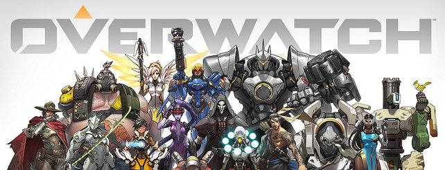 Die Helden aus Overwatch.