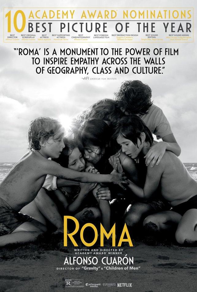 Zehn Oscar-Nominierungen, dreifacher Preisträger: Die Netflix-Produktion Roma kann mit großen Kinofilmen mithalten.