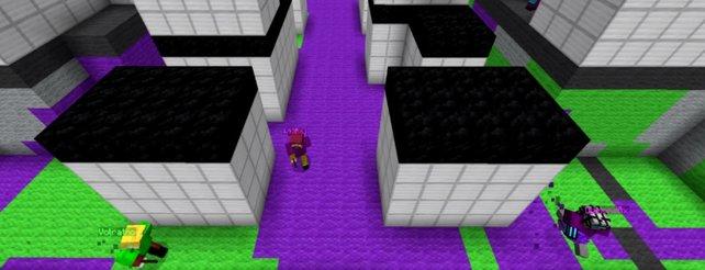 Minecraft Spieler Bastelt Spielbare Version Von Splatoon Nach - Minecraft online spielen wii u