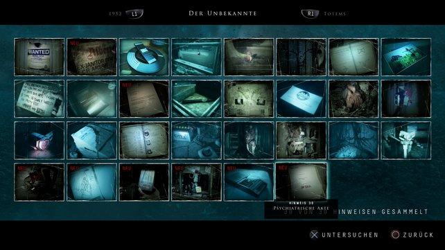Until Dawn - Sammelbares: Der Unbekannte - Fundorte aller Hinweise ...