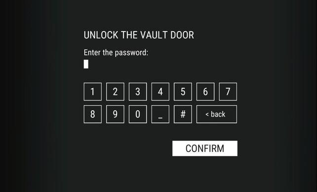 """Schnappt euch das Passwort und öffnet den Vault in """"Alfa""""!"""