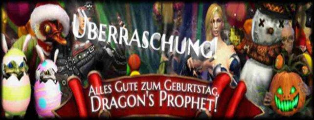 Dragon's Prophet feiert seinen ersten Geburtstag. Zu diesem Anlass warten viele Aktionen und Boni.