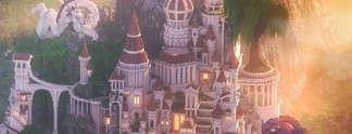 Wunderschön: Monument Valley in Minecraft nachgebaut