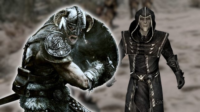 Ein Skyrim-Spieler zeigt das einseitigste Duell aller Zeiten. Der Thalmor hat nicht den Hauch einer Chance.
