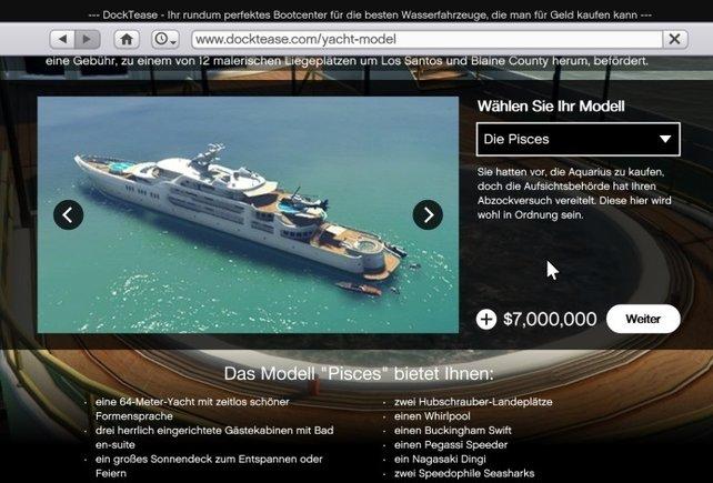 Pisces 7.000.000 $