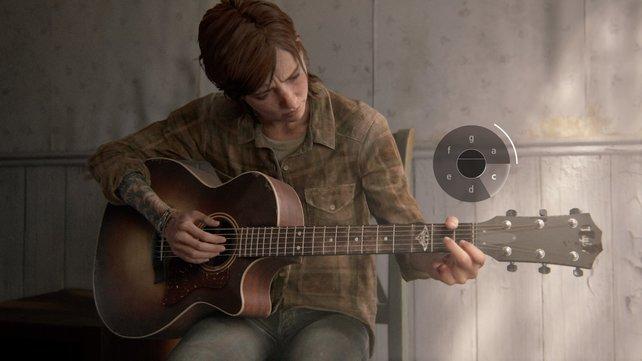 Ellie kann die Akkorde nicht mehr greifen und nicht mehr Gitarre spielen. Nun hat sie auch noch das letzte, was ihr von Joel blieb verloren.