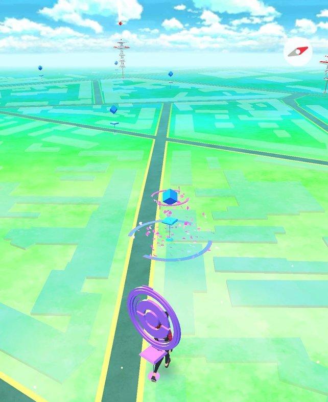 Wurde bei Pokémon Go euer Account gebannt, dann könnt ihr vermutlich keine Stops famen.