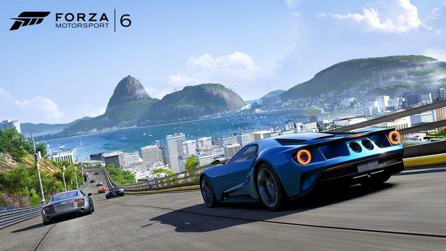 Schon Forza Motorsport 6 protzte mit schicker Optik. Wie wird erst Teil 7 auf Xbox Scorpio aussehen?