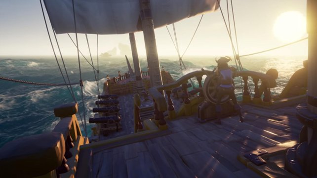 Bereits das Steuern eines Schiffes ist Team-Arbeit.