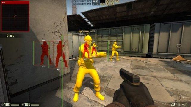 Im Multiplayer ist Cheaten ein absolutes Tabu.