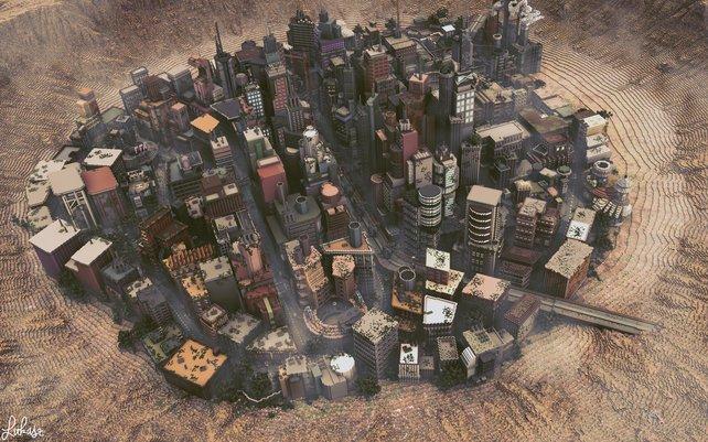 OctovonGruppe Diese MinecraftStadt Müsst Ihr Gesehen Haben Panorama - Minecraft spiele selber bauen