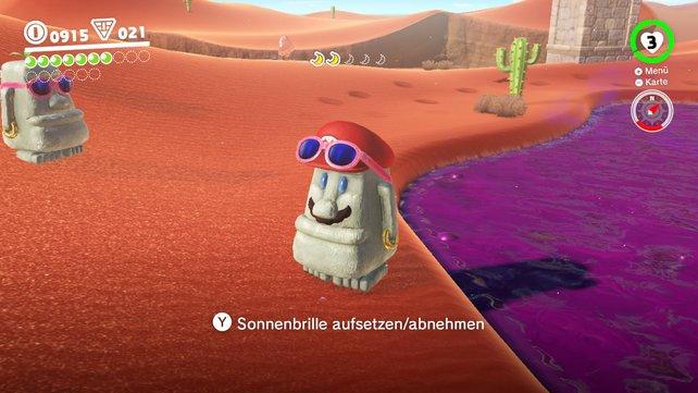 Als Steinkopf durch die Wüste - warum nicht?