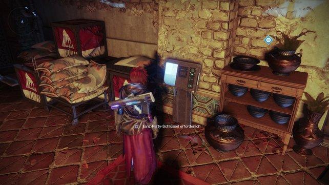 Den Tanz-Party-Schlüssel gibt es nur, wenn ihr den Loot-a-Palooza-Schlüssel findet und das Rätsel löst.