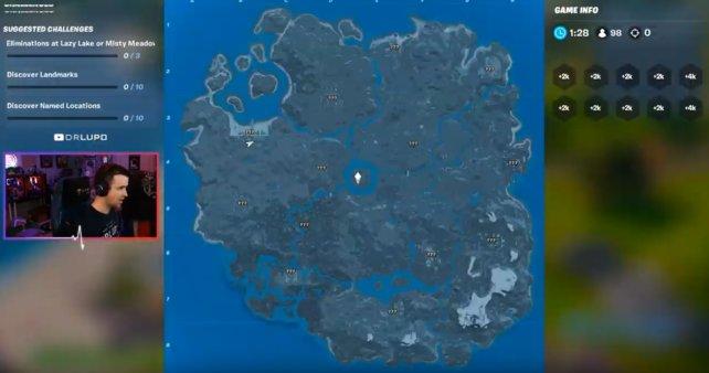Die neue Karte verfügt über viele Flüsse und geteilte Gebiete.