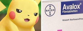 Quiz: Pokémon oder Medikament?