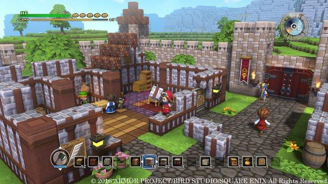 Willkommen in Dragoncraft! Äh, Minequest ... will sagen: Dragon Quest - Builders!