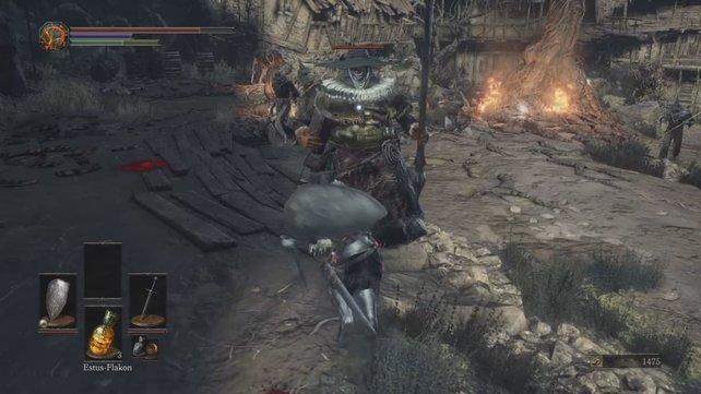 Diese Hexe wird euch im Nahkampf das Leben schwer machen.