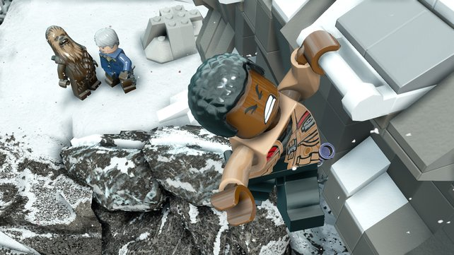 """Hübsch: Optisch gefällt das Spiel dank seines Detailgrades und den wiedererkennbaren """"Lego Star Wars""""-Figuren."""