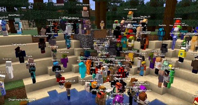 Mr Beast versammelt seine Fans, um Minecraft-Server zum Absturz zu bringen.