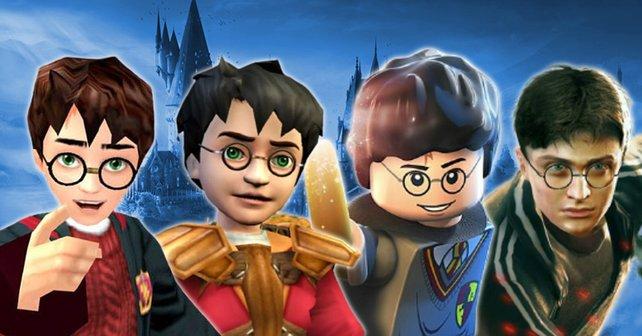 """Es gibt über 15 """"Harry Potter""""-Videospiele. Wir haben ein ultimatives Ranking erstellt – und ja, wir wussten auch, dass es unmöglich ist."""