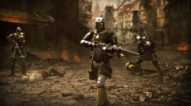 Die Welt von Type-0 ist kein freundlicher Ort. Hier regieren Krieg und Tod.