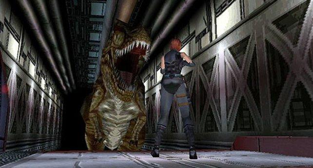 """Im Capcom-Klassiker und """"Survival Horror""""-Titel Dino Crisis müsst ihr euch augestorbenen Urzeitwesen stellen."""