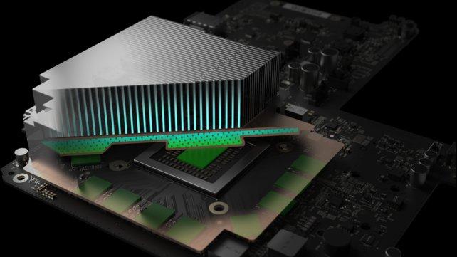 In der Scorpio soll ein Kühlsystem mit Dampfkammern zum Einsatz kommen - eine seltene Technik, die sonst nur bei Oberklasse-Grafikkarten à la GeForce GTX 1080 vorhanden ist. // Quelle: Eurogamer.net
