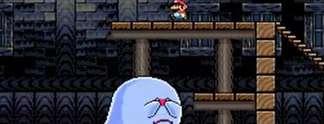Super Mario World: Ihr könnt die riesigen Buu Huus besiegen